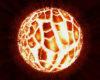 Bild von einer Planetenexplosion als Symbol für den Urknall